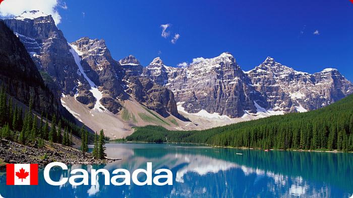 Канада горы
